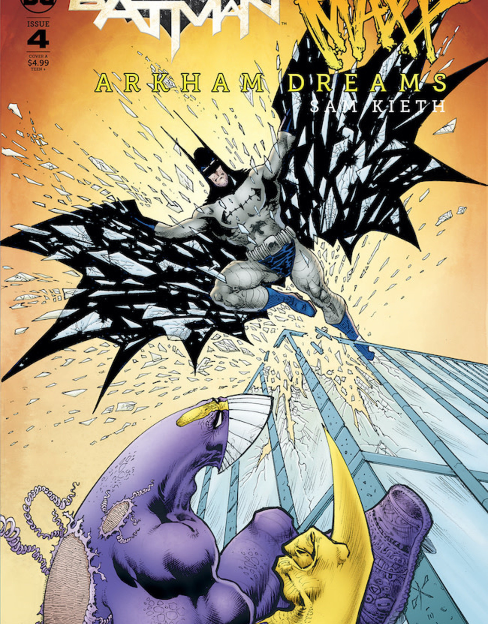 IDW Publishing Batman The Maxx Arkham Dreams #4 Cvr A Kieth