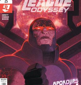 DC Comics Justice League Odyssey #25 Cvr A Ladronn