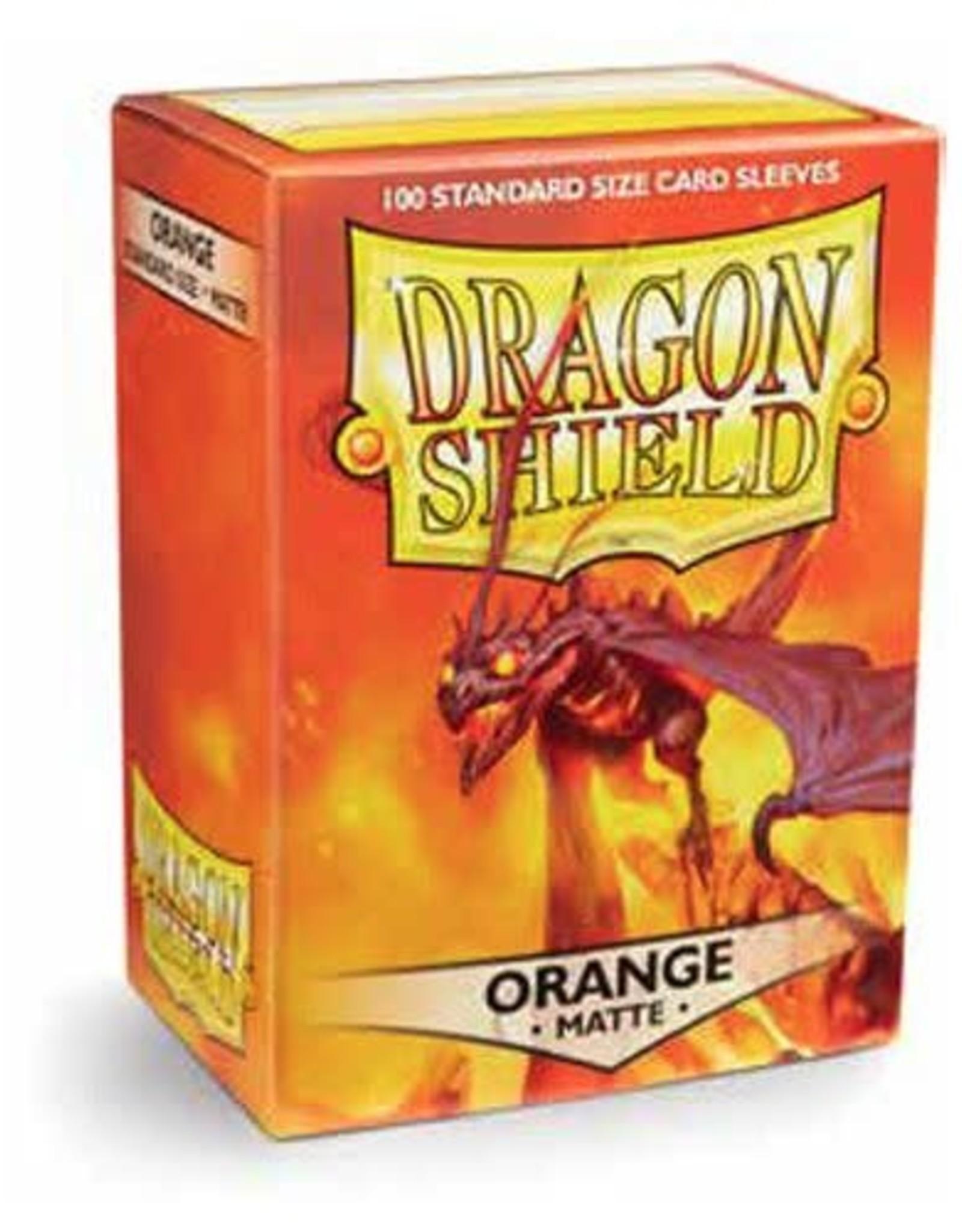 Arcane Tinmen Dragon Shield (100) Matte Orange
