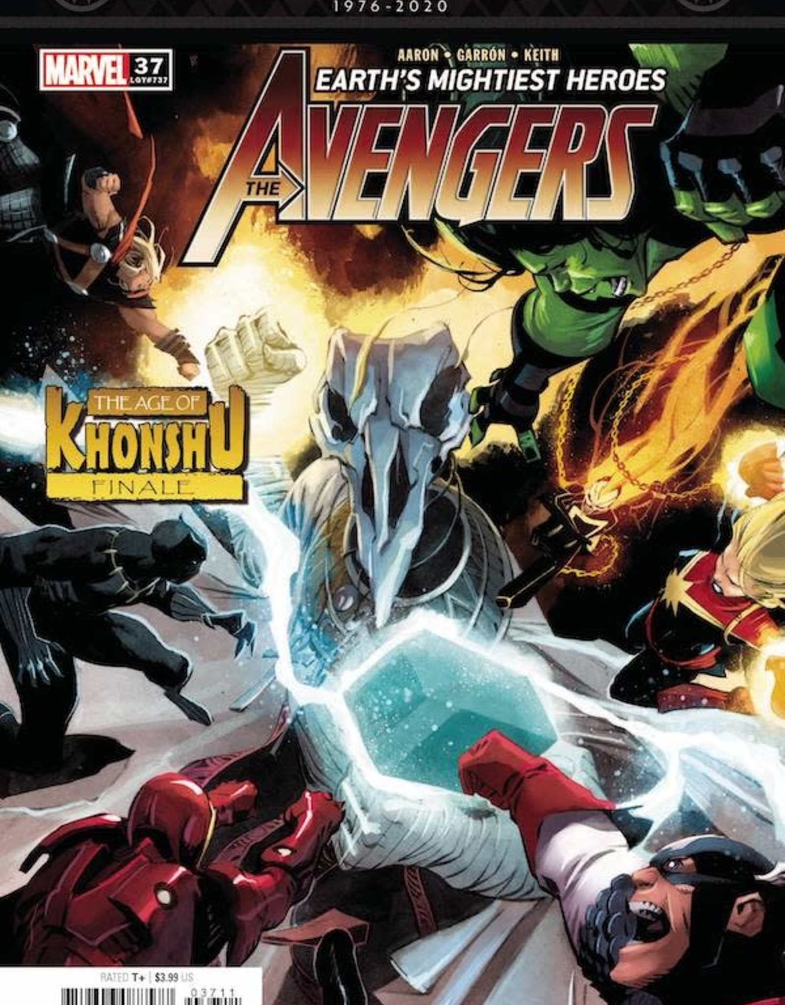 Marvel Comics Avengers #37
