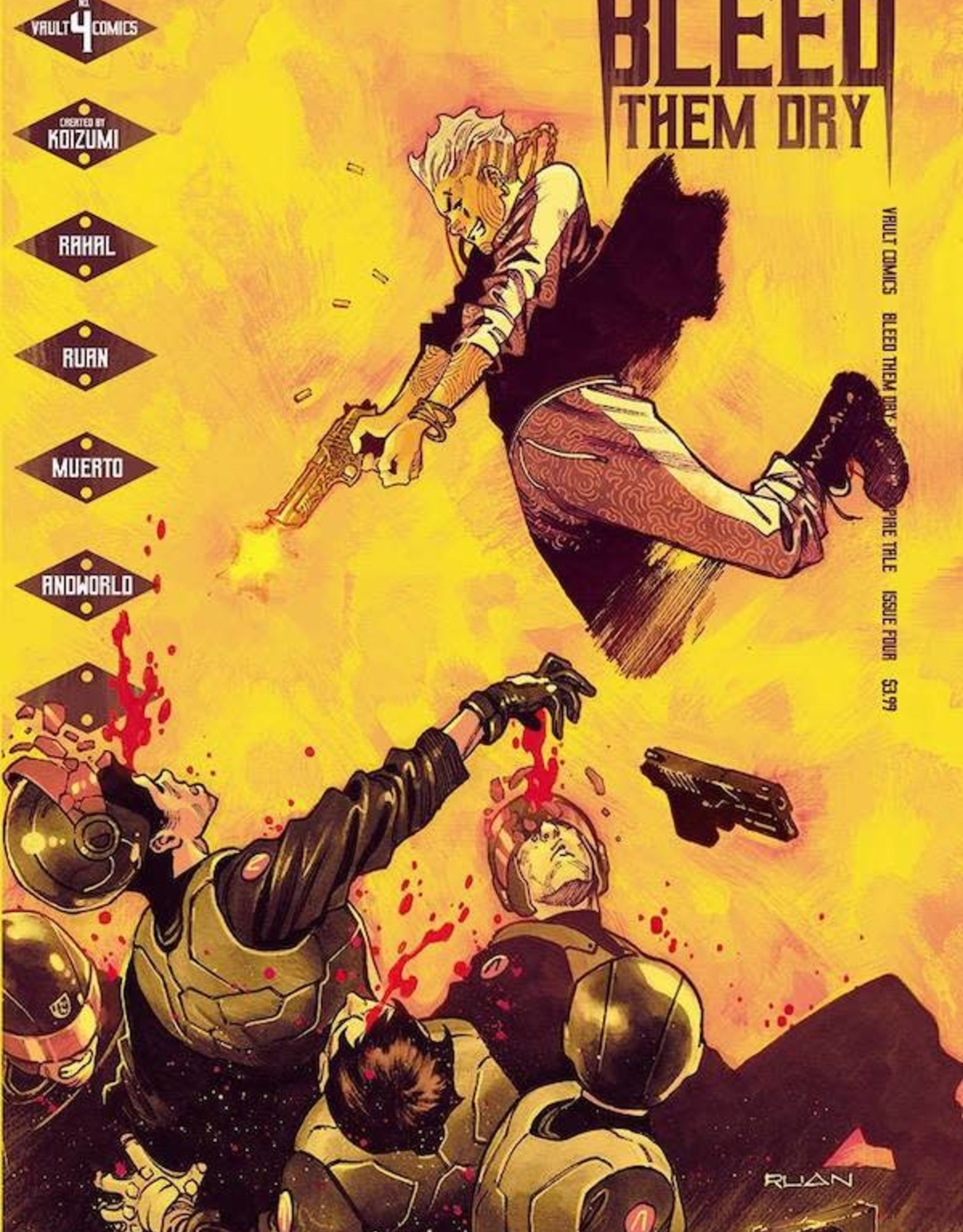 Vault Comics Bleed Them Dry #4 Cvr A Ruan