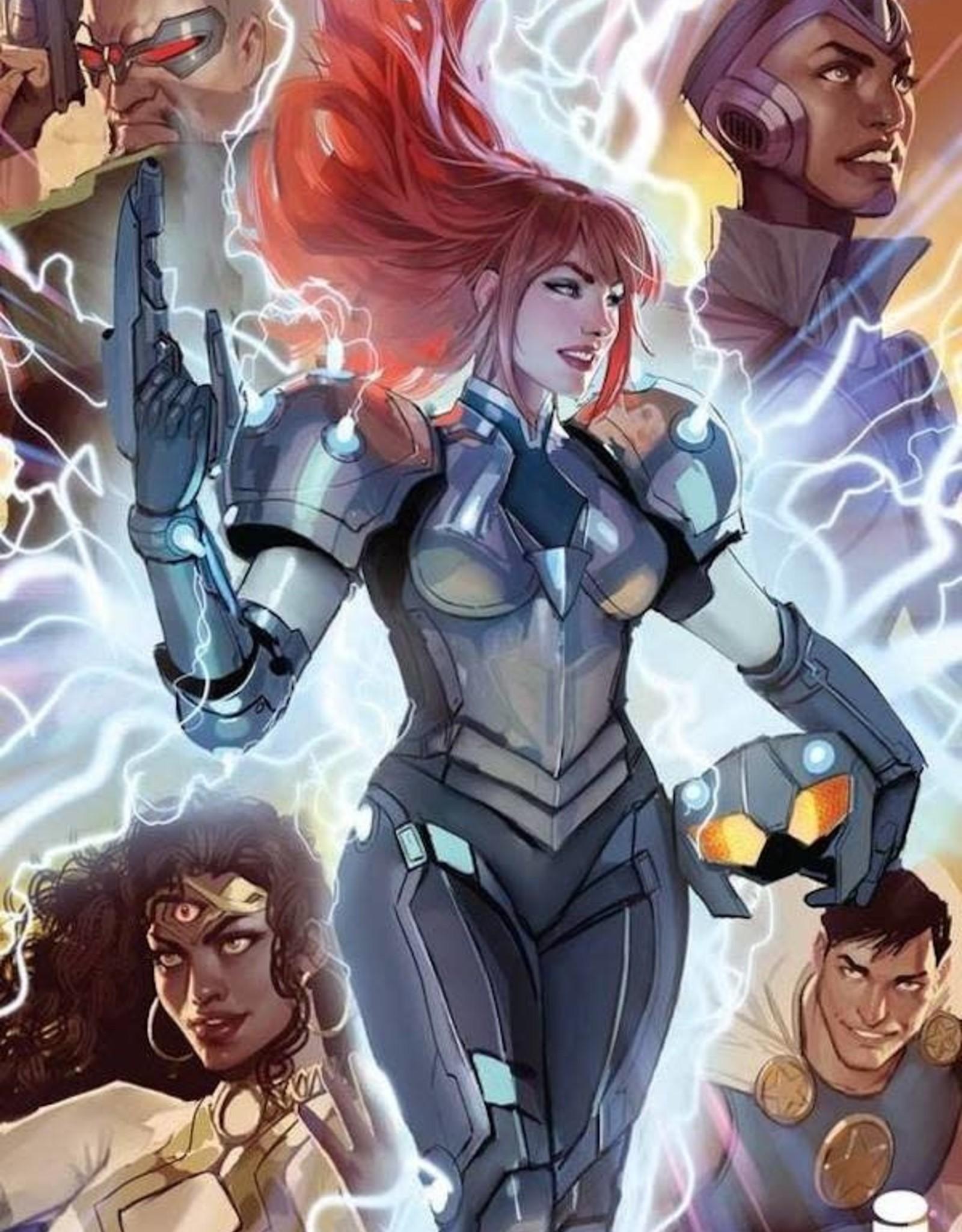 Image Comics Commanders In Crisis #1 Cvr B Sejic
