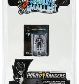 Super Impulse Worlds Smallest Black Ranger Figure Inner Case