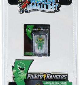 Super Impulse Worlds Smallest Green Ranger Figure Inner Case