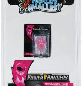 Super Impulse Worlds Smallest Pink Ranger Figure Inner Case