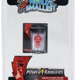 Super Impulse Worlds Smallest Red Ranger Figure Inner Case