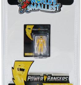 Super Impulse Worlds Smallest Yellow Ranger Figure Inner Case