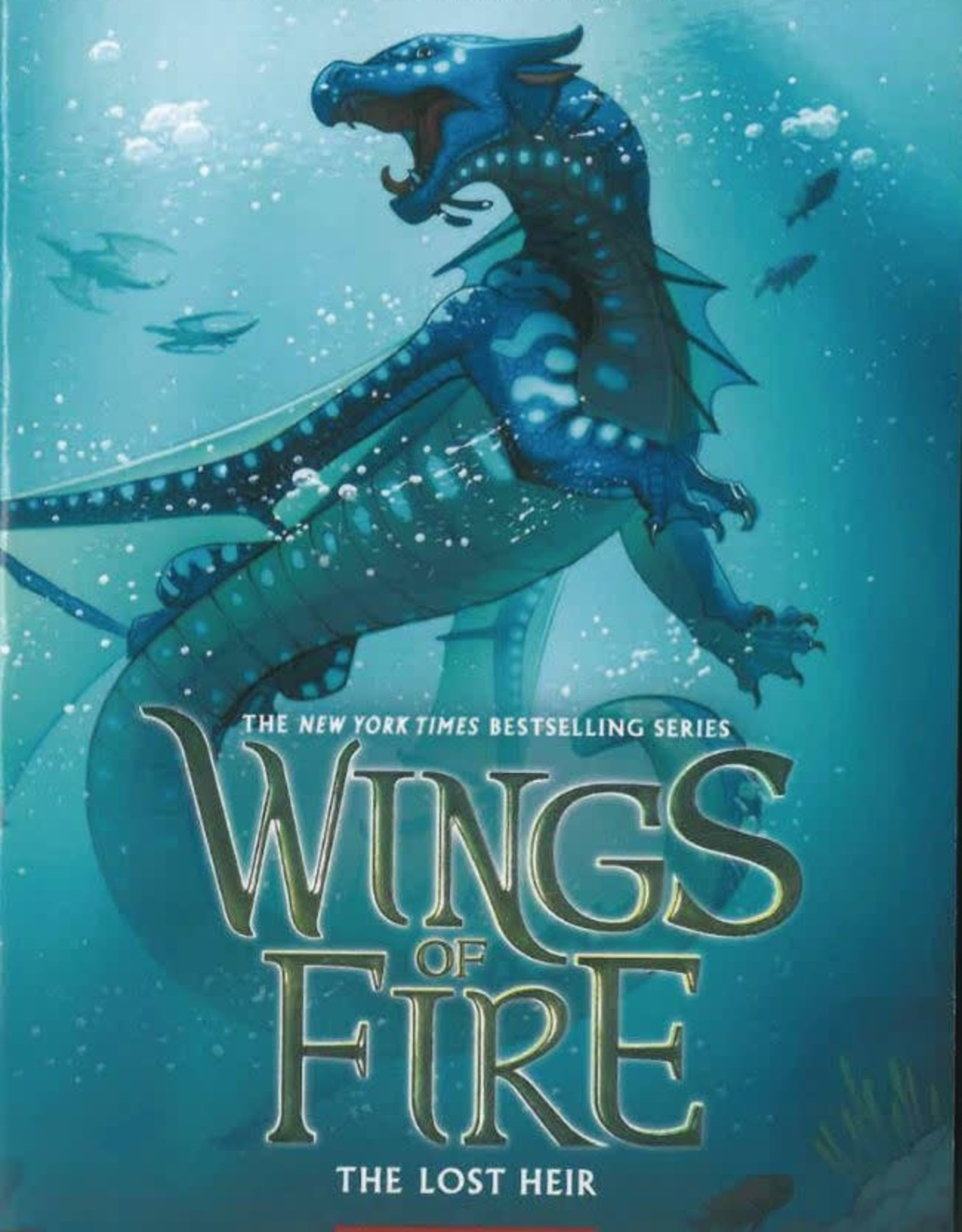 Graphix Wings Of Fire Sc GN Vol 02 Lost Heir