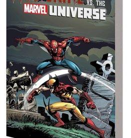 Marvel Comics Wolverine vs the Marvel Universe