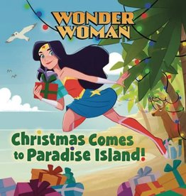 Random House Books Young Reader Wonder Woman Christmas Comes To Paradise Island HC