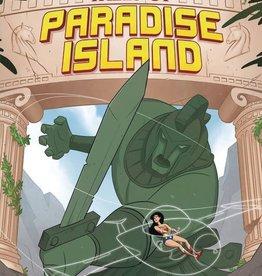 Capstone Publishing Wonder Woman Tales of Paradise Island Jet-Powered Justice