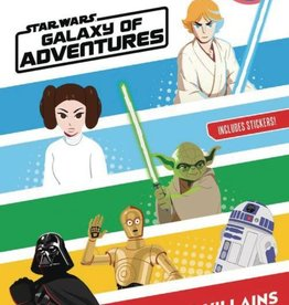 Disney Lucasfilm Press World of Reading Level 2 Star Wars Galaxy of Adventures Heroes &Villains