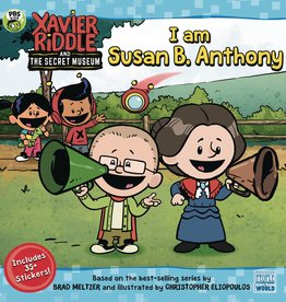 Penguin Young Readers Xavier Riddle & Secret Museum SC I Am Susan B Anthony