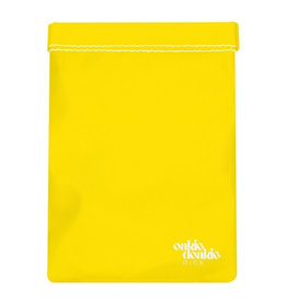 Oakie Doakie Dice Large Dice Bag - Yellow