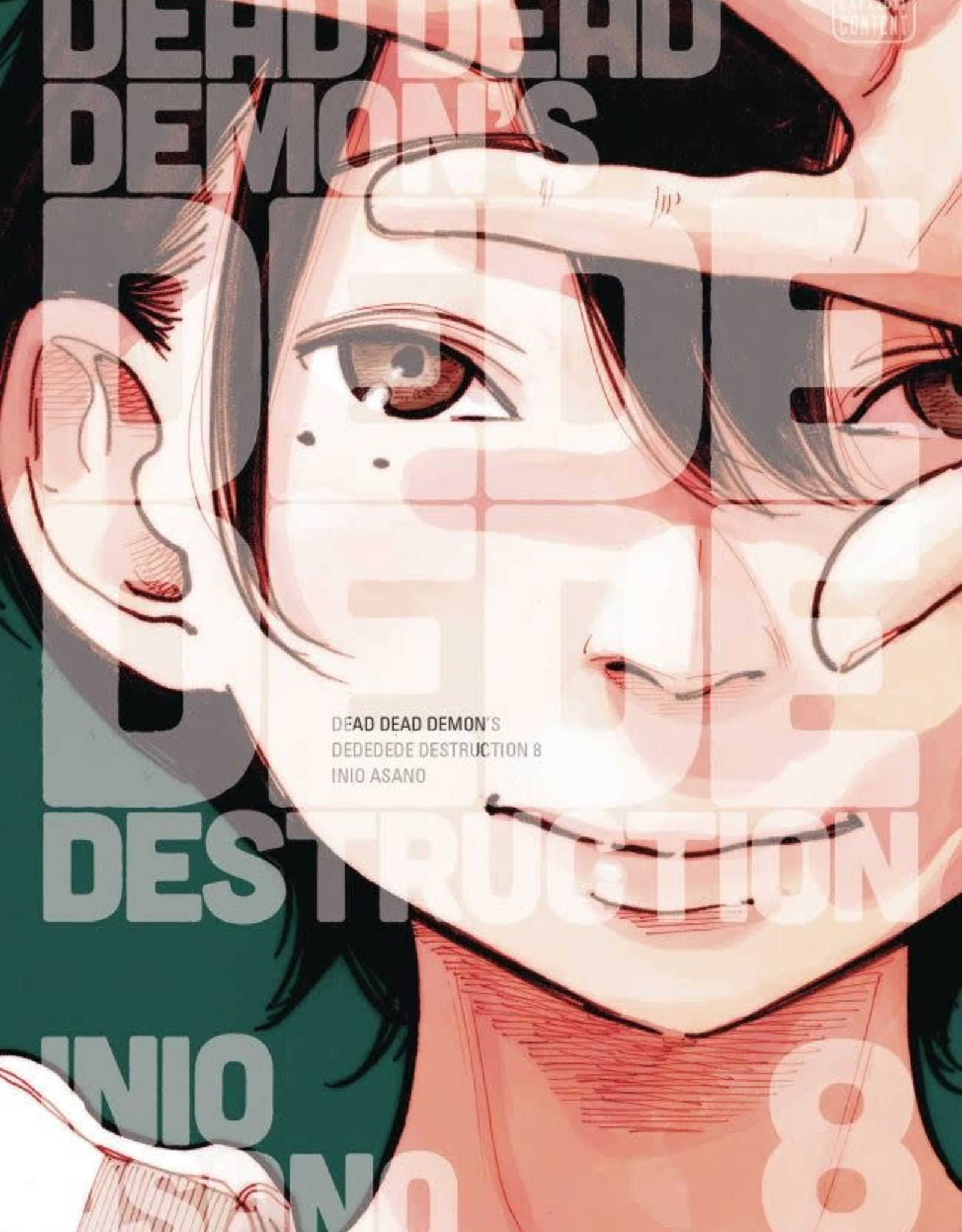 Viz Media Dead Dead Demons Dededede Destruction Vol 08