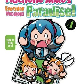 Seven Seas Entertainment Hachune Miku's Everyday Vocaloid Paradise! Vol 04