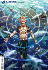DC Comics Aquaman #64 Cvr B Gilbert Vigonte Var