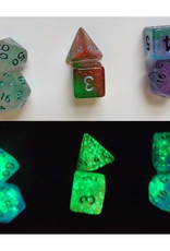 Sirius Dice Dice Block 7ct. - Frosted Glowworm