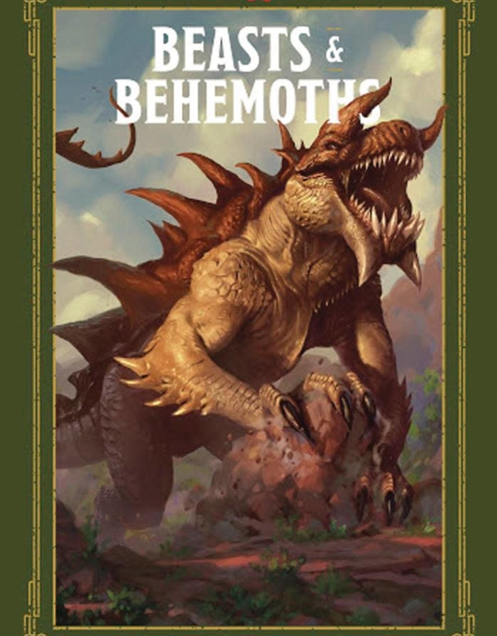 Ten Speed Press Beasts & Behemoths Young Adventurers Guide D&D HC