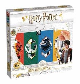 Top Trumps USA Harry Potter House Crests 500pc Puzzle