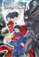 DC Comics Batman & The Justice League Manga Vol 01 GN