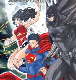 DC Comics Batman & The Justice League Manga TP Vol 01