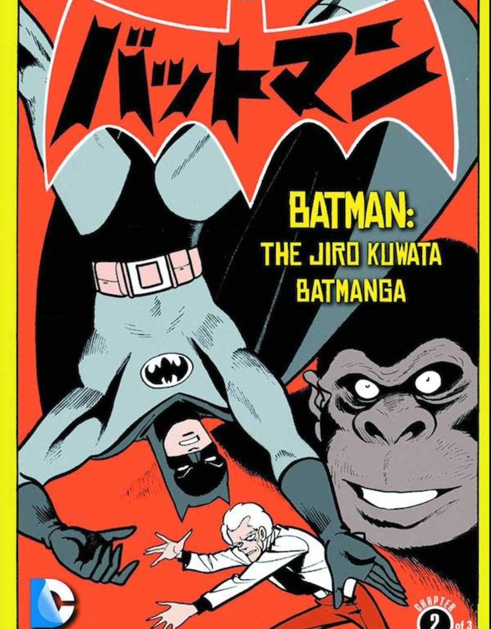 DC Comics Batman The Jiro Kuwata Batmanga TP Vol 02