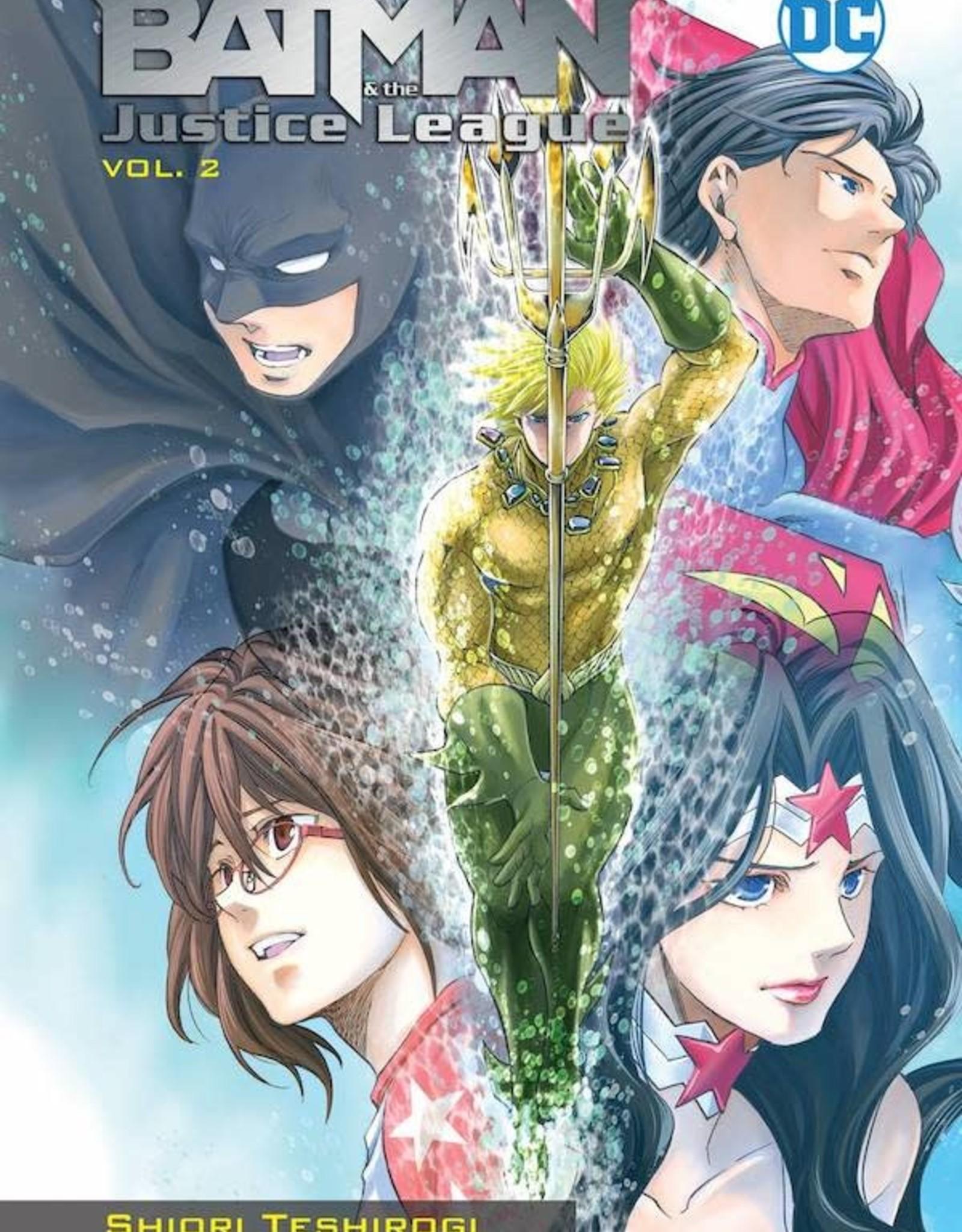 DC Comics Batman & The Justice League Manga TP Vol 02