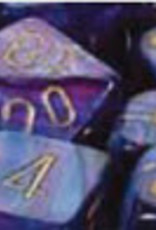 Chessex Dice Block 7ct. - Lustrous Purple/Gold