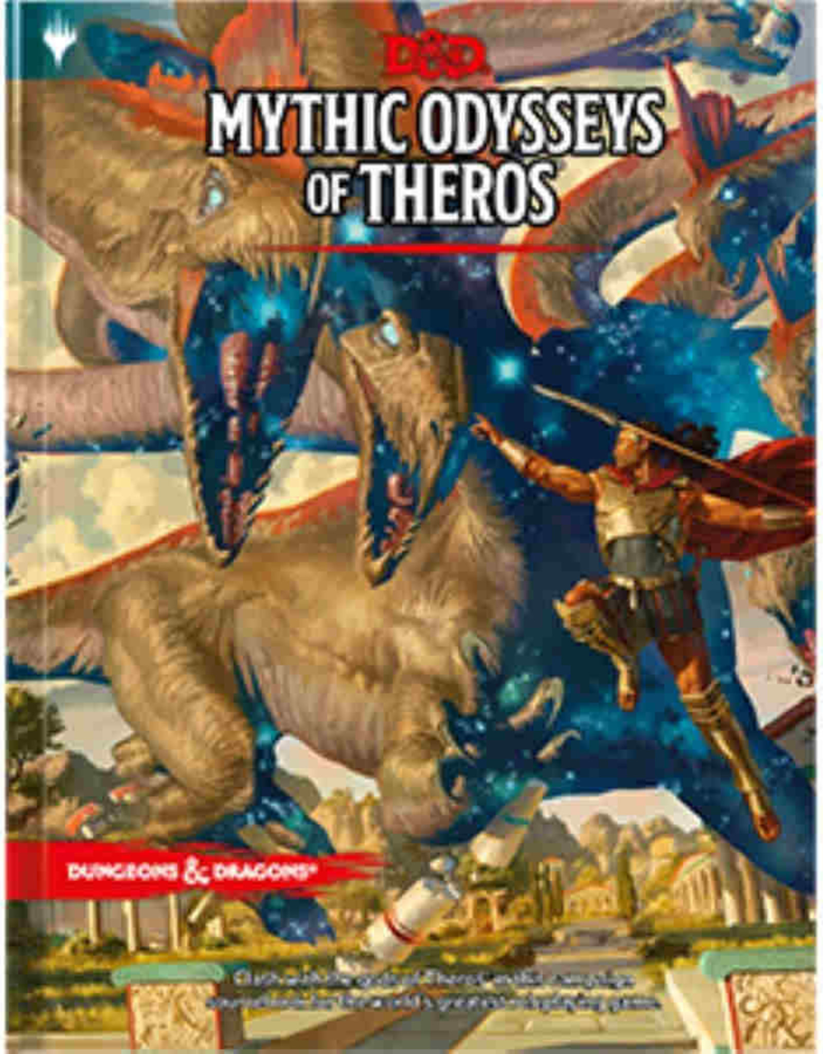 Wizards of the Coast Dungeons & Dragons 5E: Mythic Odysseys Of Theros
