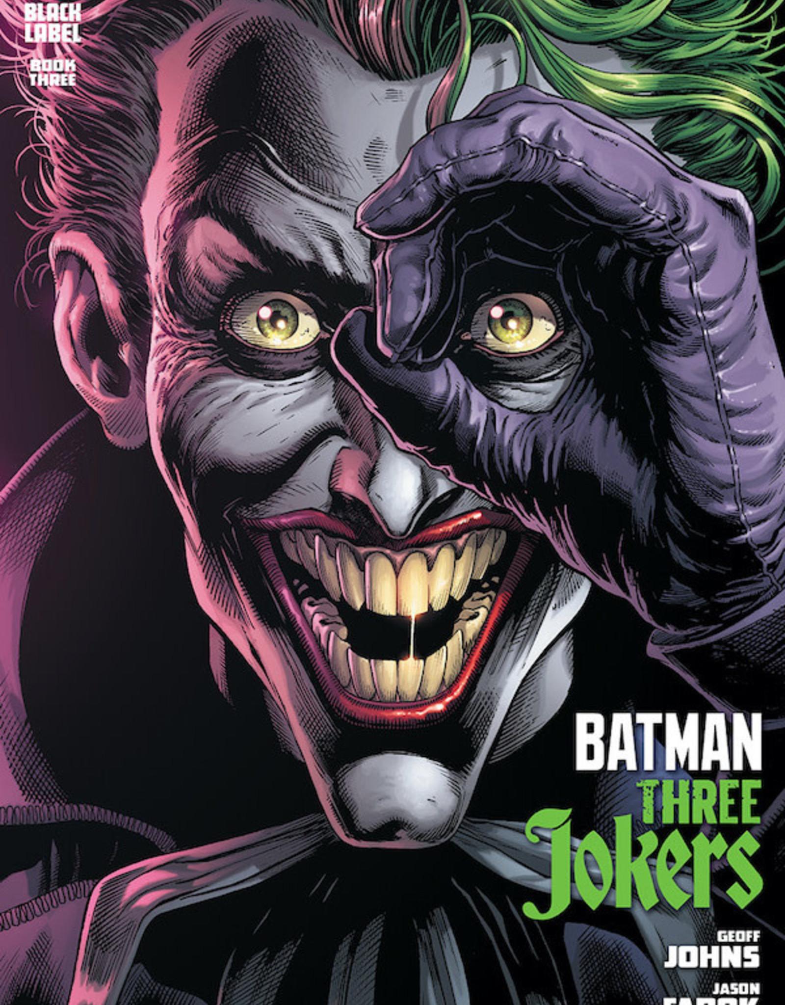 DC Comics Batman Three Jokers #3 Cvr A Jason Fabok Joker