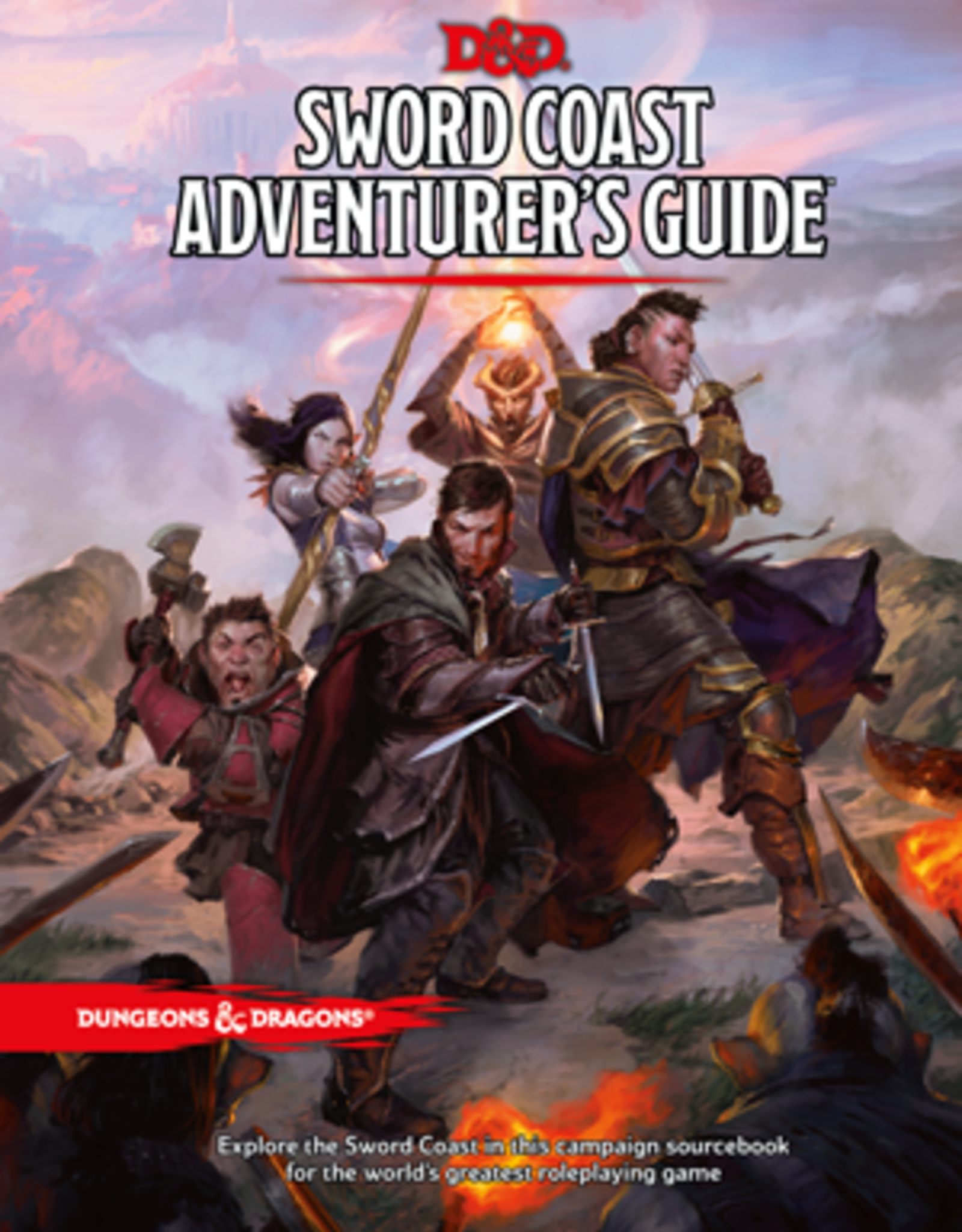 Wizards of the Coast Dungeons & Dragons Sword Coast Adventurer's Guide