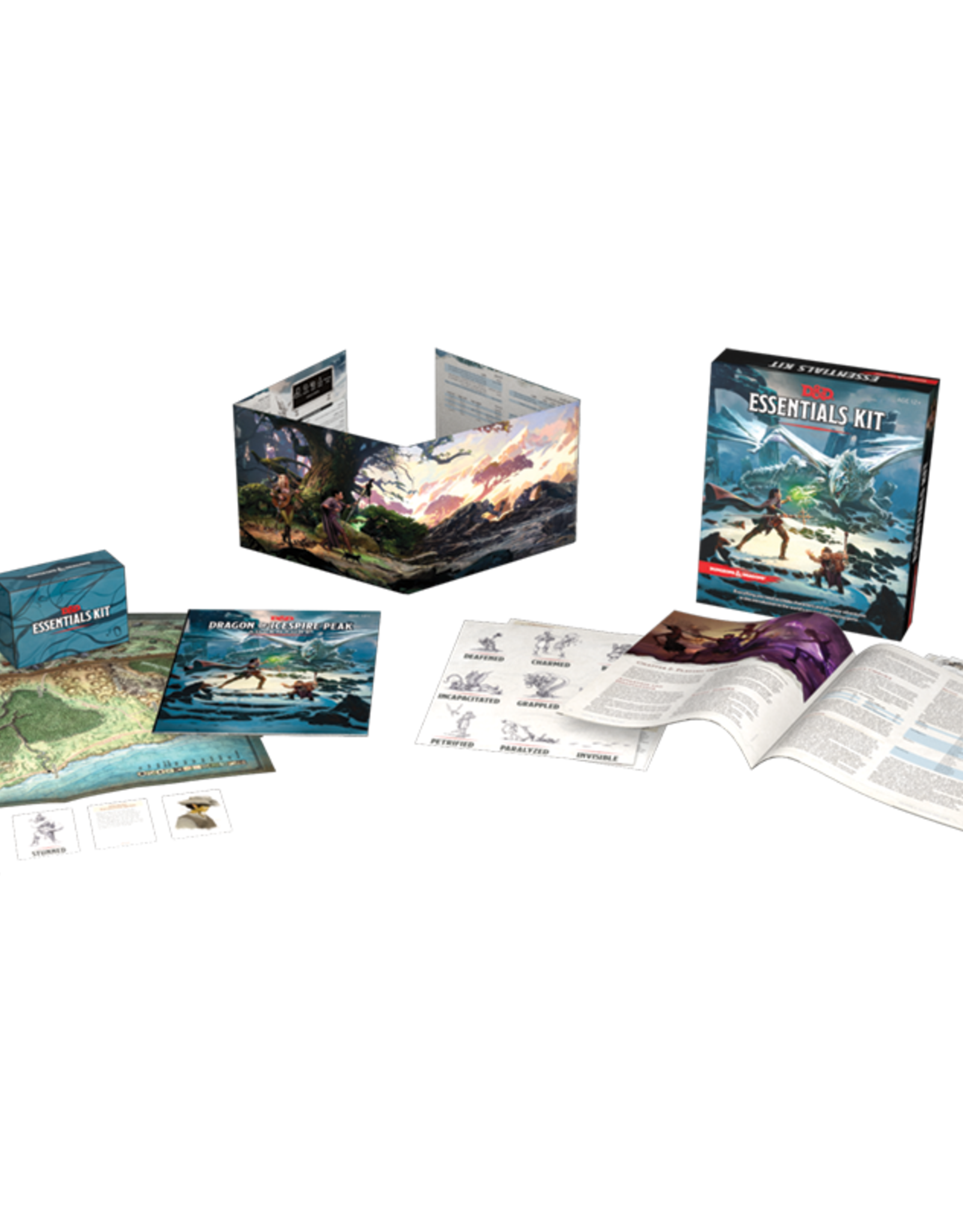 Wizards of the Coast Dungeons And Dragons Essentials Kit