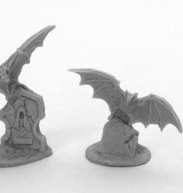 Reaper Reaper Bones Black Fantasy Giant Bats (3)