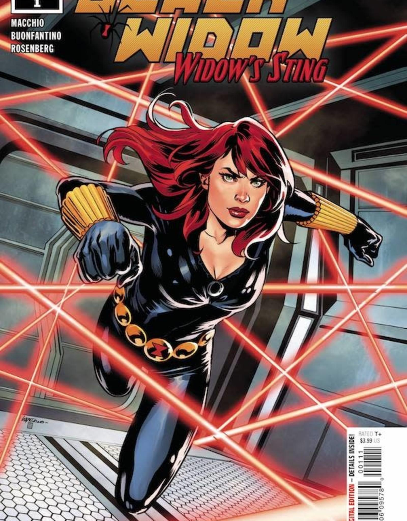 Marvel Comics Black Widow Widows Sting #1