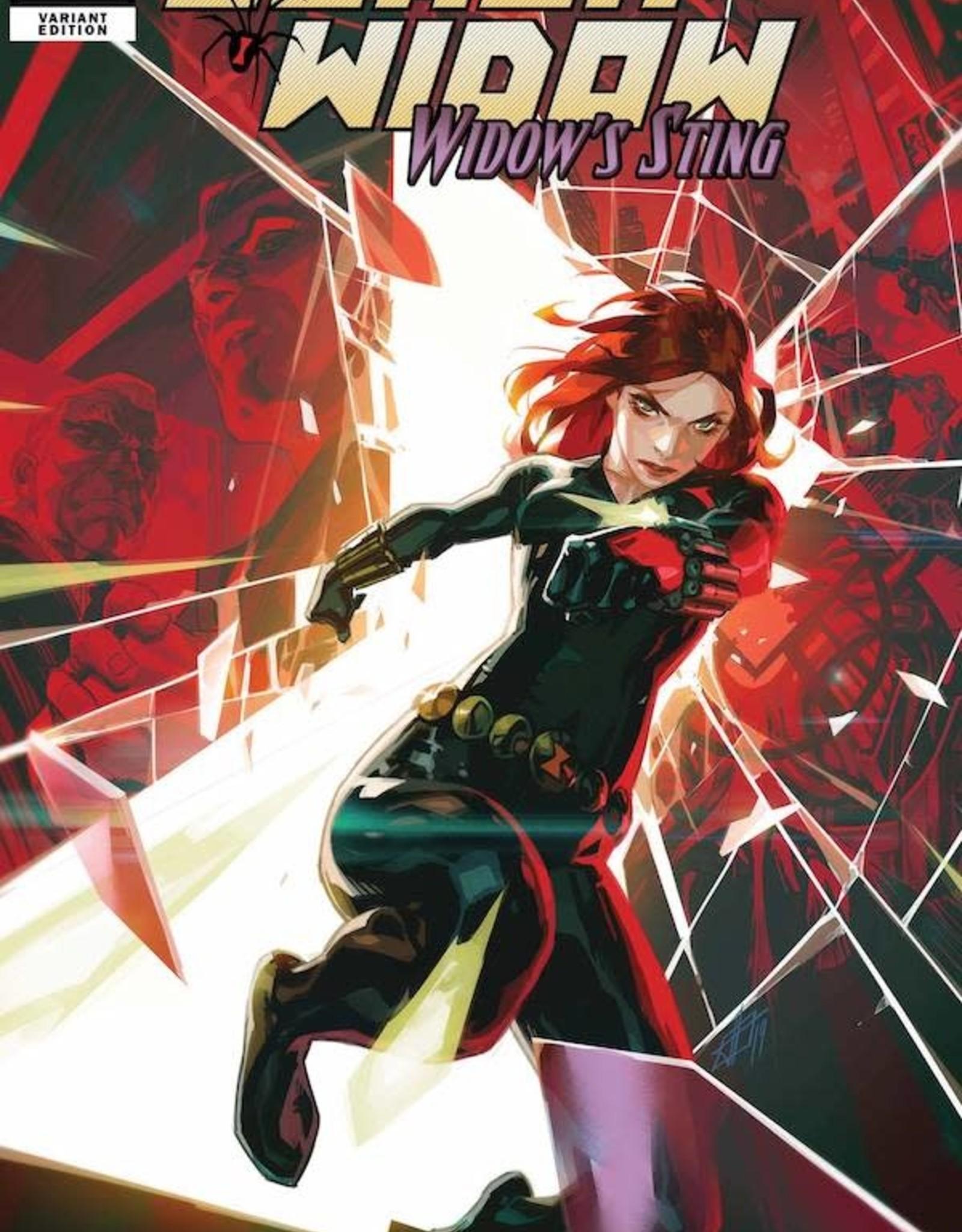 Marvel Comics Black Widow Widows Sting #1 Infante Var