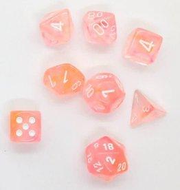 Chessex Dice Block 7ct. - Supernova/White Glow