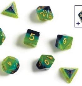 Sirius Dice Dice Block 7ct. - Green/Blue