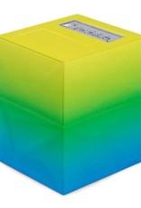 Pirate Lab Defender Deck Box, Texture Series, Mazarin, Morning Mist