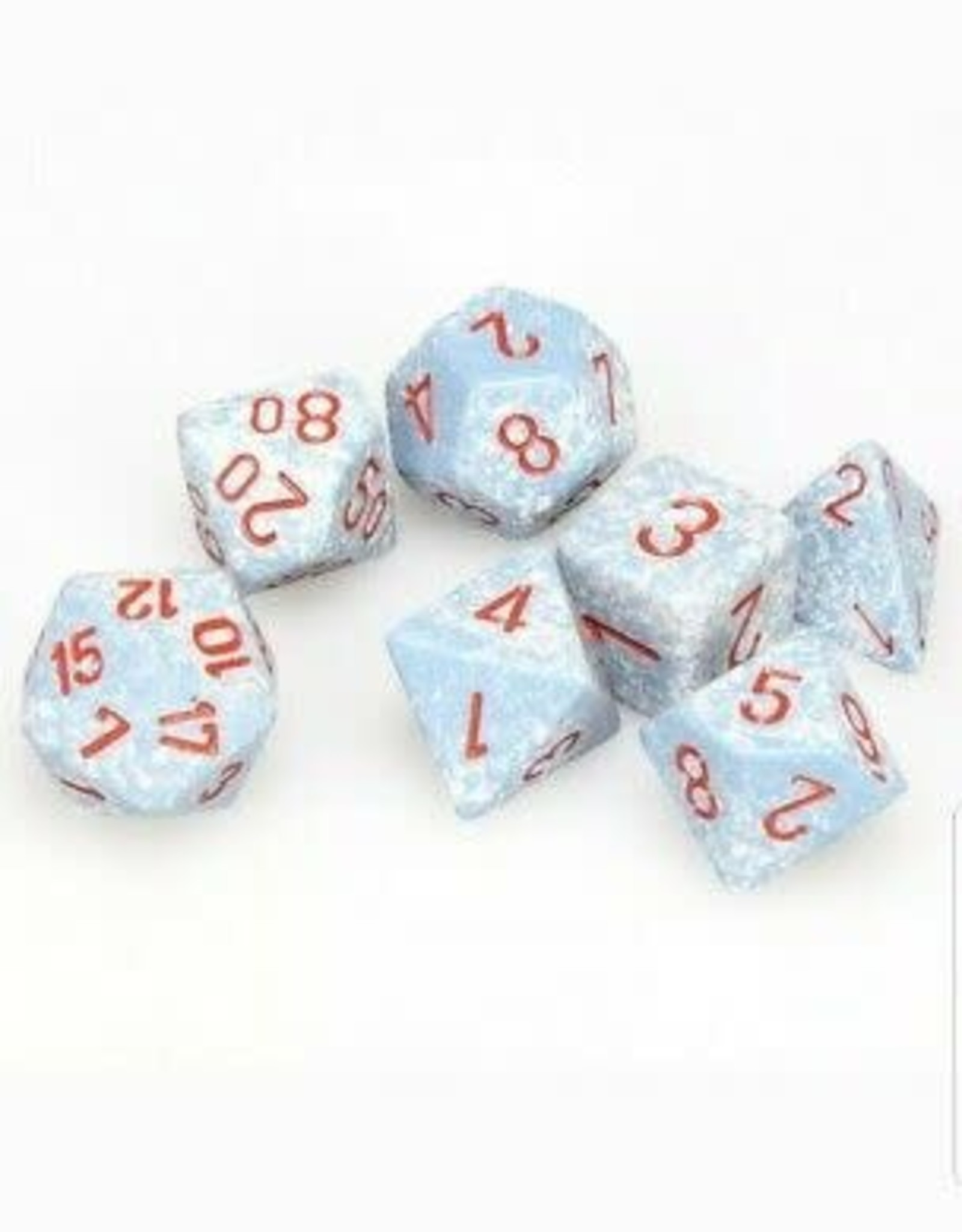 Chessex Dice Block 7ct. - Speckled Air