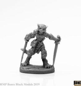 Reaper Reaper Bones Black Shadoweyes, Catfolk Rogue