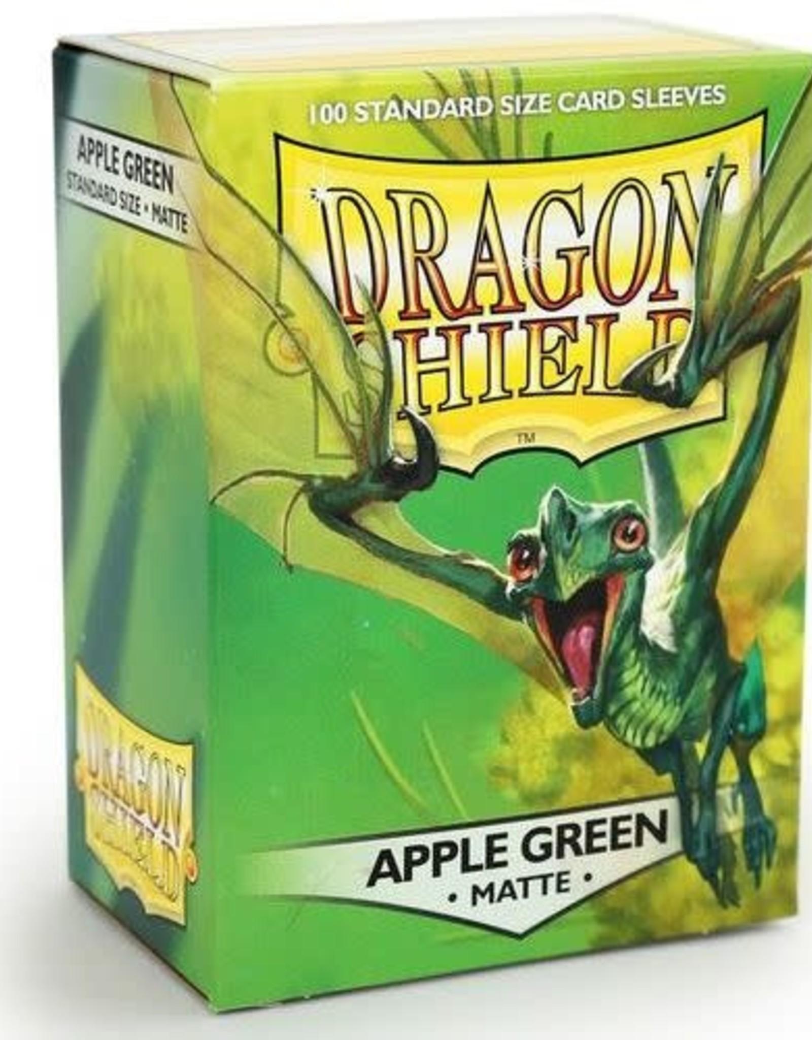 Arcane Tinmen Dragon Shield (100) Matte Apple Green