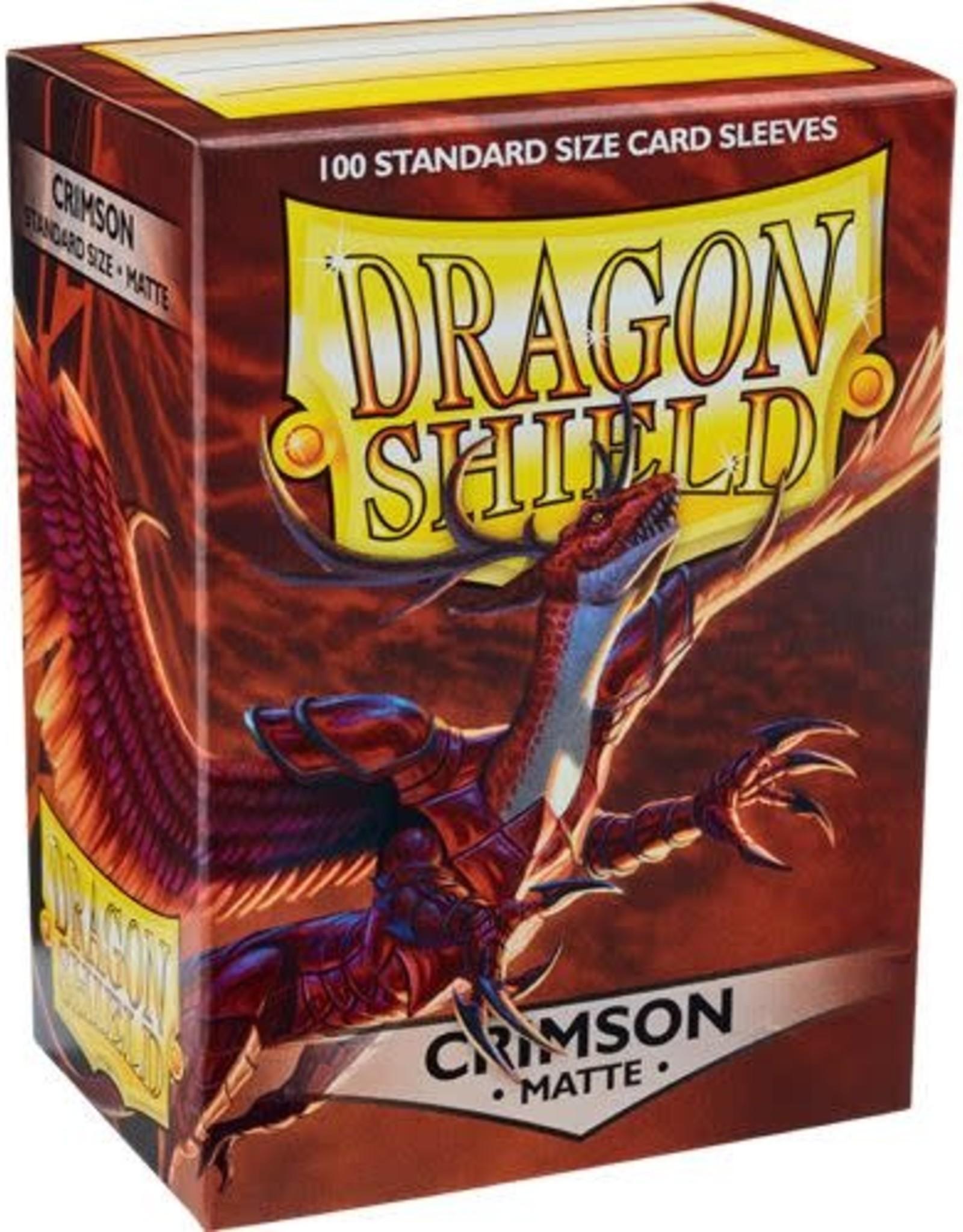 Arcane Tinmen Dragon Shield (100) Matte Crimson