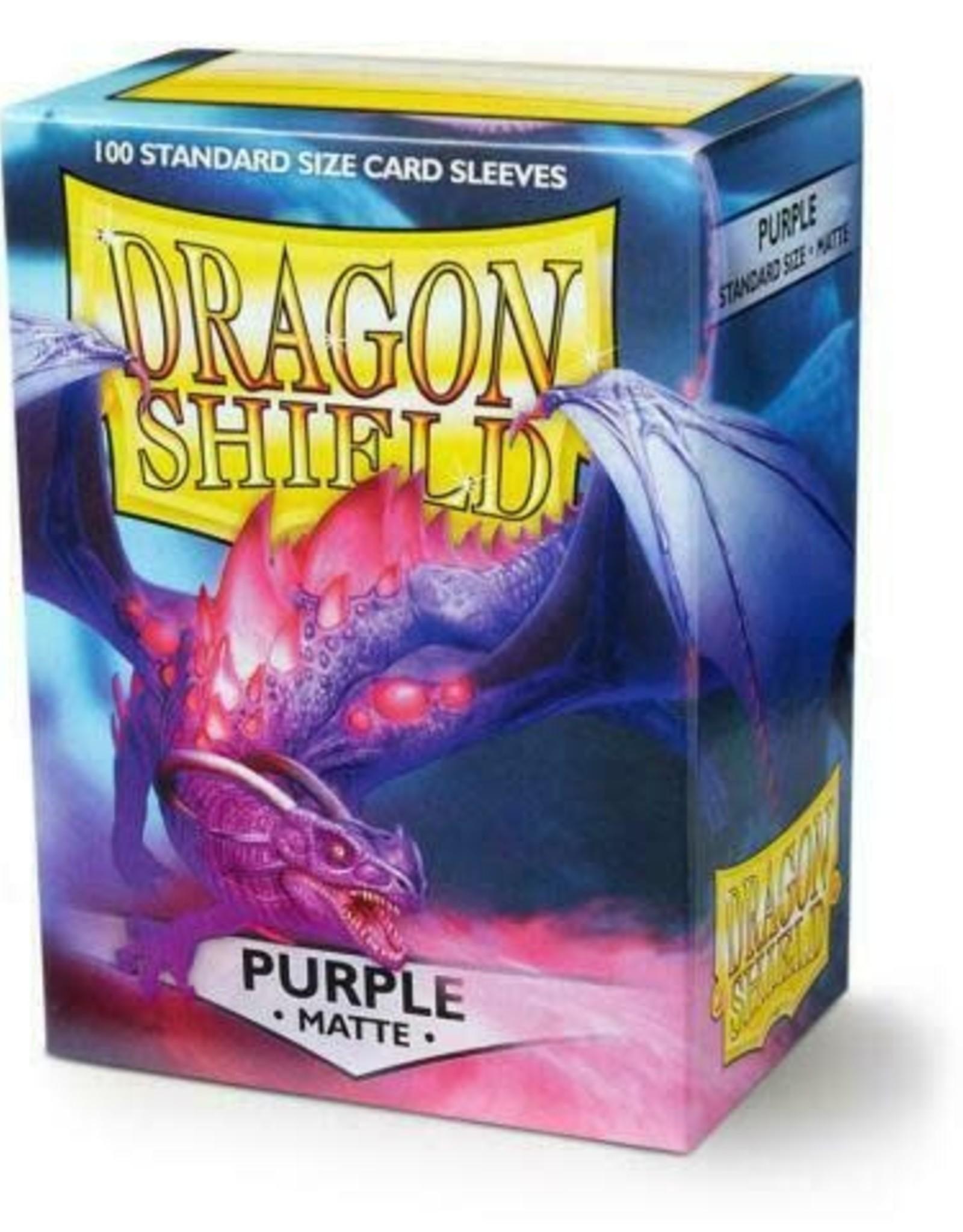 Arcane Tinmen Dragon Shield (100) Matte Purple