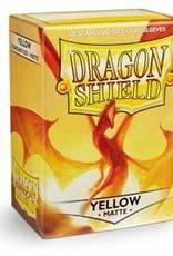 Arcane Tinmen Dragon Shield (100) Matte Yellow