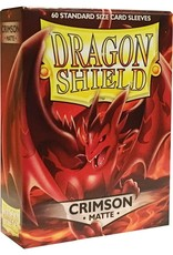 Arcane Tinmen Dragon Shield (60) Matte Crimson