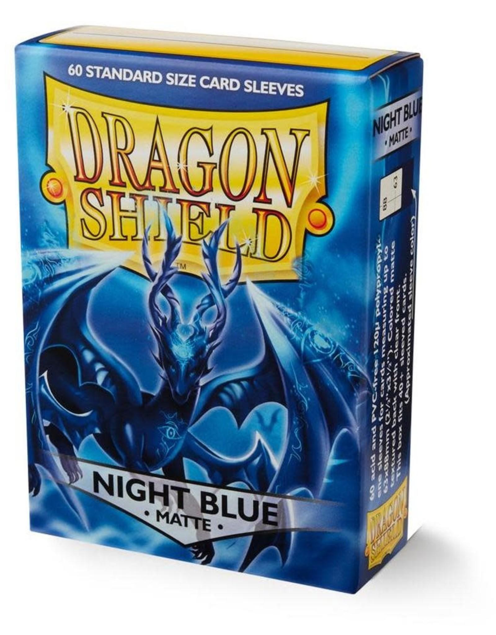 Arcane Tinmen Dragon Shield (60) Matte Night Blue