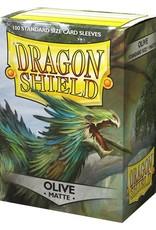 Arcane Tinmen Dragon Shield Sleeves: Matte Olive (BOX Of 100)