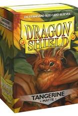 Arcane Tinmen Dragon Shields Sleeves Matte Tangerine 100ct