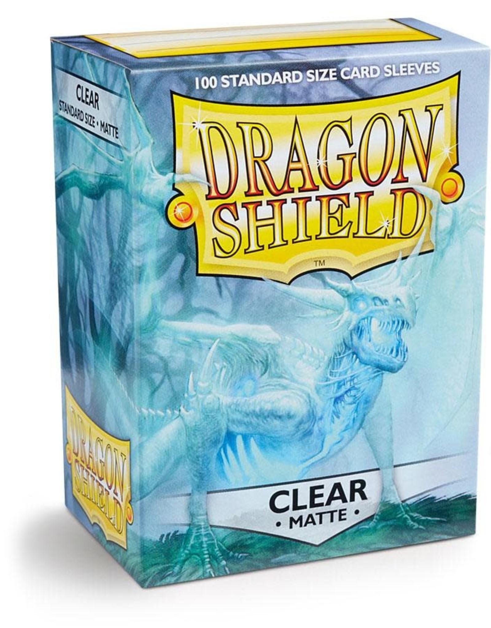 Arcane Tinmen Dragon Shields Sleeves: Matte Clear 100ct